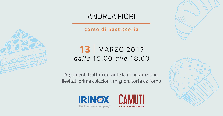 Corso di Pasticceria IRINOX - 13 Marzo 2017