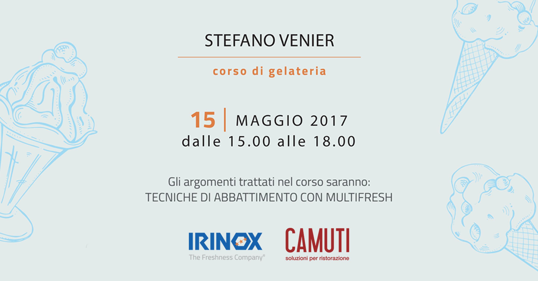 Corso di Gelateria IRINOX - 15 Maggio 2017