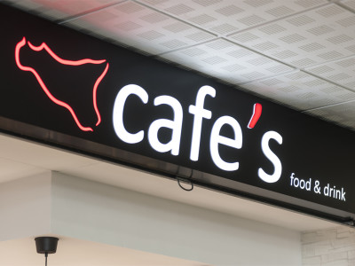 logo Cafe's Food & Drink Catania