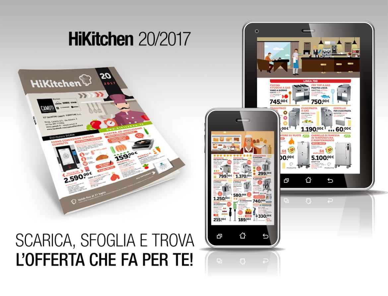 È arrivato il nuovo HiKitchen 20-2017 scopri le offerte