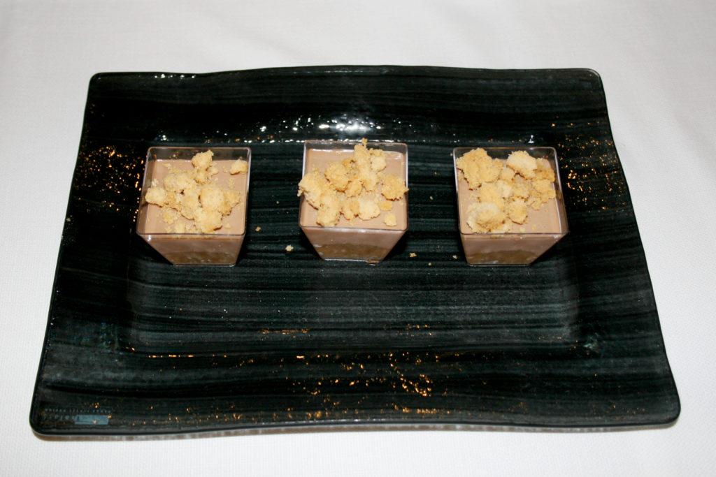 mouse cioccolato e granella