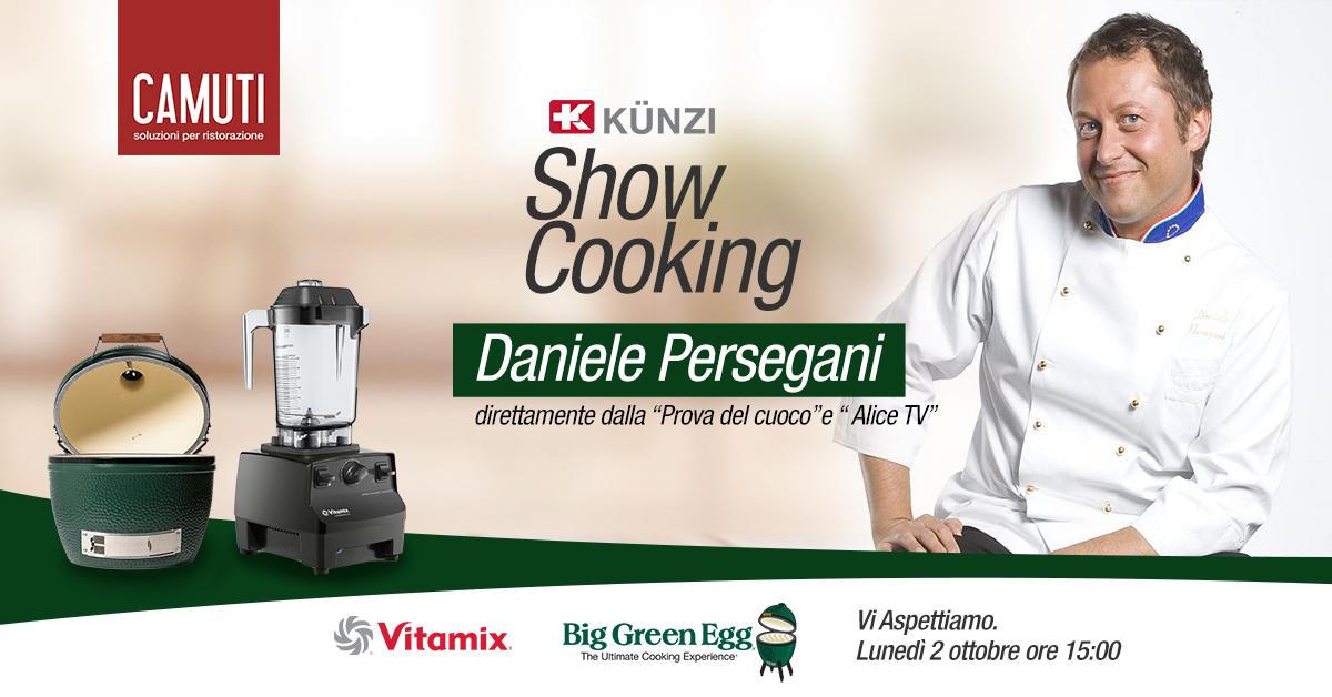 Show Cooking con lo chef Daniele Persegani