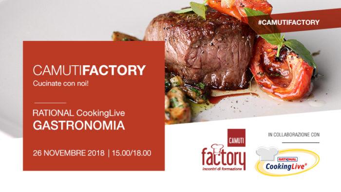 Gastronomia con Rational - 26 novembre 2018