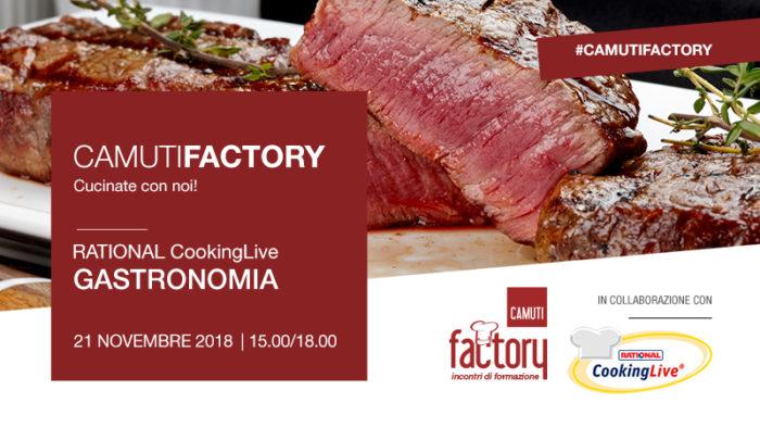 Gastronomia con Rational - 21 novembre 2018