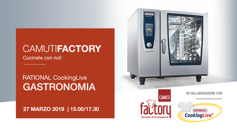GASTRONOMIA con Rational - 27 marzo 2019