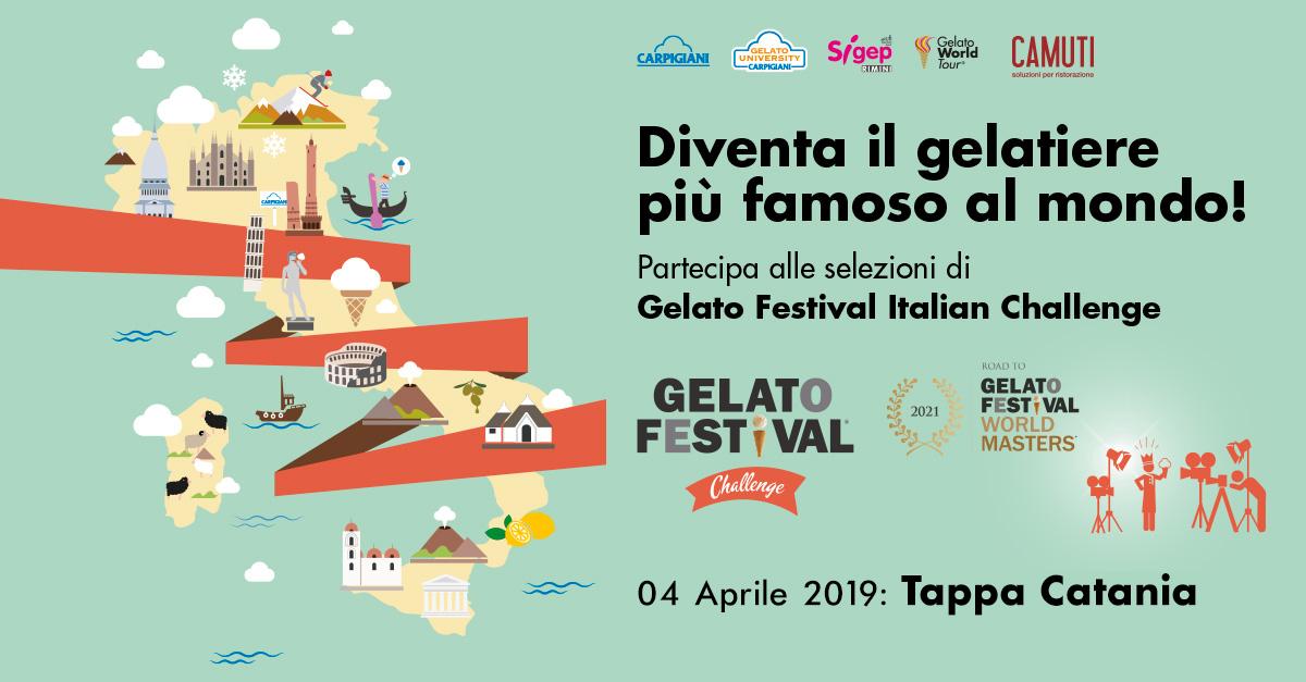 Gelato Festival Italian Challenge: il 4 Aprile 2019