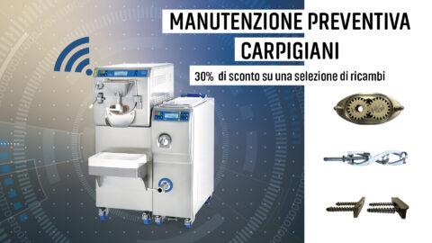 Manutenzione preventiva Carpigiani