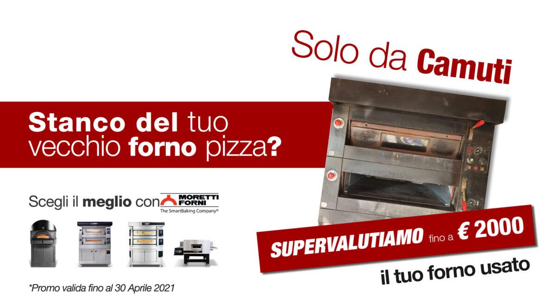 promo nuovo forno pizza